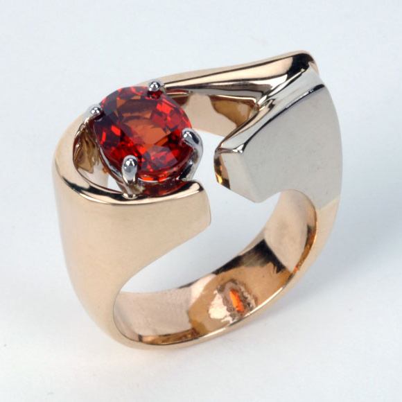 Custom Red Gemstone