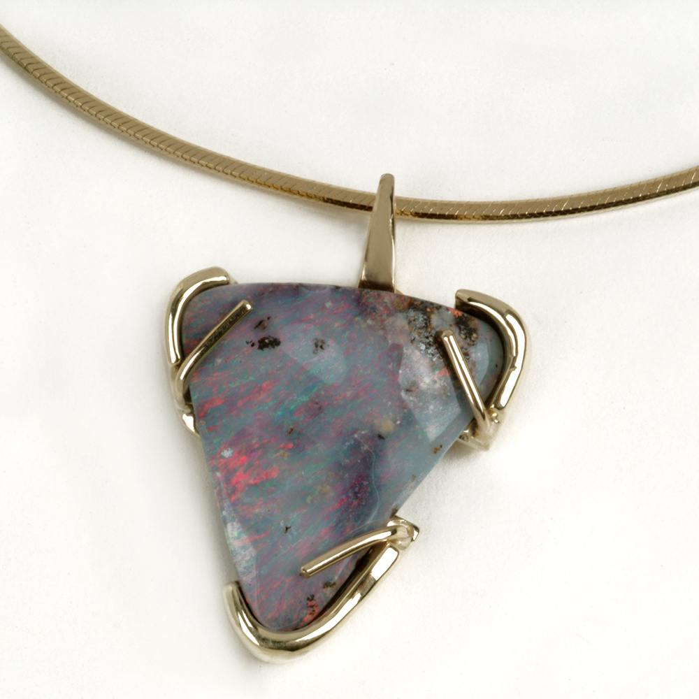 Custom Stone Necklace